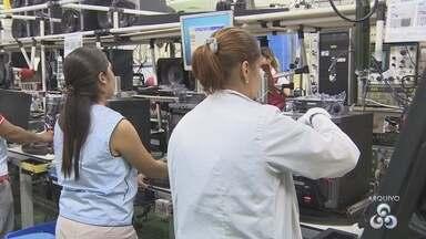 Nº de contratação no Polo Industrial de Manaus sobe e chaga a 18 mil em dez meses - Número representa 775 pessoas a mais empregadas no PIM este ano.