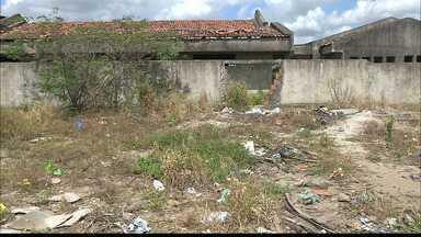 Creche na Paraíba está abandonada há seis anos - A creche fica em Santa Rita.