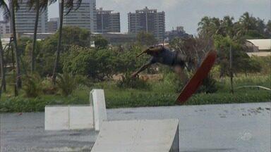 Veja como foi o Campeonato Nordestinho de Wakeboard na Lagoa do Colosso, em Fortaleza - Veja como foi o Campeonato Nordestinho de Wakeboard na Lagoa do Colosso, em Fortaleza.