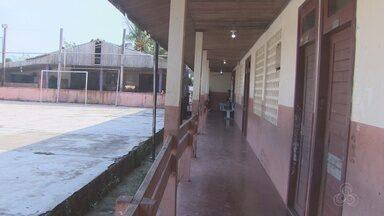 Tô na Rede: moradores da estrutura de escola no distrito de Matapi, em Macapá - Tô na Rede: moradores da estrutura de escola no distrito de Matapi, em Macapá