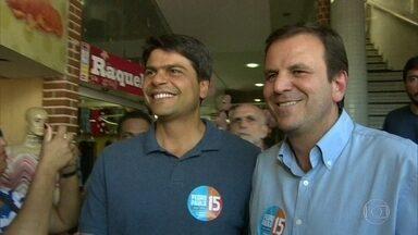 Eduado Paes e Pedro Paulo são condenados por abuso de poder político-econômico - Com a decisão, os dois ficam inelegíveis por oito anos.