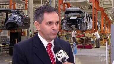 Setor da indústria apresenta bons resultados no Sul do Rio - Um dos motivos é a recuperação do setor automotivo. Número de pessoas trabalhando subiu quase 10% esse ano.