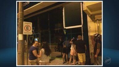 Criminosos explodem cofres de duas agências bancárias em Botelhos (MG) - Criminosos explodem cofres de duas agências bancárias em Botelhos (MG)