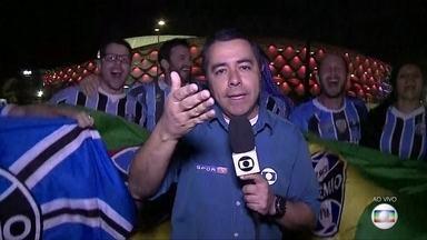 Direto dos Emirados Árabes, Marco Aurélio Souza apresenta a estreia do Grêmio no Mundial - Direto dos Emirados Árabes, Marco Aurélio Souza apresenta a estreia do Grêmio no Mundial