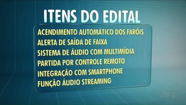 Prefeitura de Umuarama exige em edital caminhonete com mais de 50 itens opcionais - A caminhonete seria para o gabinete do prefeito, e deve custar quase R$ 180 mil.