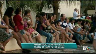 Mais de 200 crianças participam de Auto de Natal em Umuarama nesta terça - A apresentação começa às 20h30, na Unipar.
