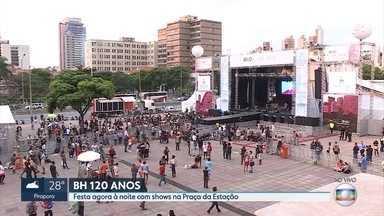 Tem música: festa na Praça da Estação celebra os 120 anos de Belo Horizonte - Skank é uma das atrações
