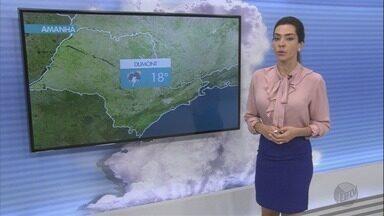Veja a previsão do tempo para esta quarta-feira na região de Ribeirão Preto - Há possibilidade de chuva isolada em algumas cidades.