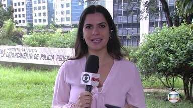 Dois deputados são alvo de operação da PF - Agentes estão na Câmara dos Deputados, em Brasília. Como é relacionada a políticos com foro privilegiado, ação foi autorizada pelo STF.