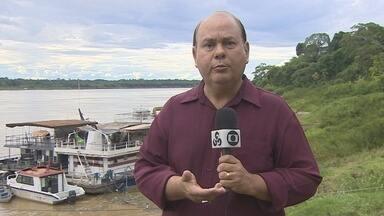 Aulas na universidade federal em Porto Velho são suspensas por falta de água - Marcelo Winter.