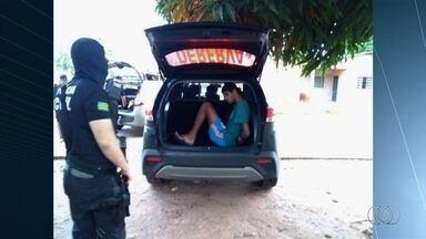 Homem é preso em Goiânia suspeito de tentar extorquir donos de carros roubados - Segundo a polícia, ele furtou parte do bando de dados dos funcionários do governo do estado e usava essas informações para cometer o crime.