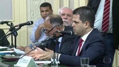 A Alerj vota hoje se aprova ou não a indicação do conselheiro titular do TCE - Rodrigo Melo do Nascimento foi indicado pelo governador Luiz Fernando Pezão, para a vaga do conselheiro aposentado Jonas Lopes de Carvalho.