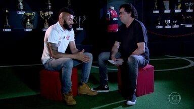 Casagrande entrevista Muralha para o Esporte Espetacular - Mais uma edição do Casão FC com o comentarista entrevistando uma personalidade do esporte