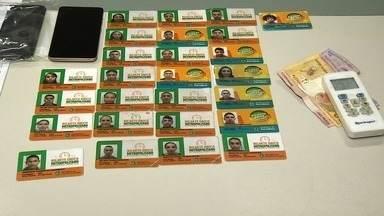 Polícia prende homem que fraudava o Bilhete Único - Confira mais notícias em G1.globo.com/ce