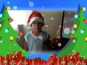 Confira as mensagens de Natal enviadas pelos telespectadores - Mensagens são lidas durante o MG Inter TV 1ª Edição.