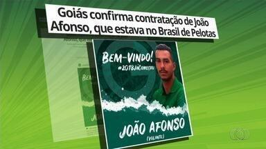 Goiás anuncia João Afonso e acerta com Rafinha - Alviverde vai aumentando a lista de reforços para 2018