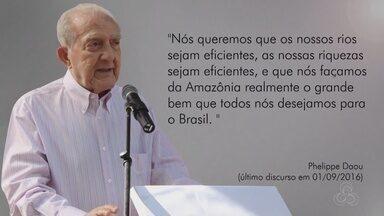Rede Amazônica lembra um ano da morte de Phelippe Daou - Fundador do grupo Rede Amazônica.