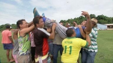 Conheça o goleiro Leonam, novo craque do futebol amador de Mato Grosso - Conheça o goleiro Leonam, novo craque do futebol amador de Mato Grosso