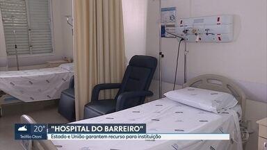 Kalil e Pimentel inauguram oficialmente o Hospital do Barreiro - Obras começaram em 2010.