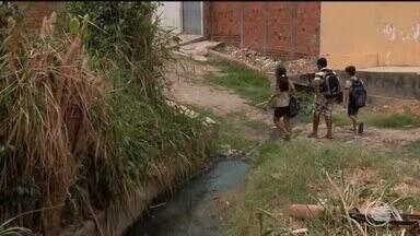 Piauí é o segundo estado do país com pior desempenho em saneamento básico - Piauí é o segundo estado do país com pior desempenho em saneamento básico