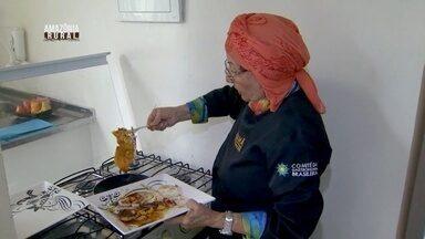Parte 3: Chef ensina a fazer um bife de cajú - Preparo demora cerca de 10 minutos.