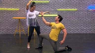 Veja o ensaio de Maria Joana no ritmo do samba e da valsa - Confira o vídeo!