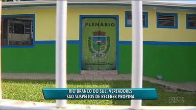 Sete vereadores de Rio Branco do Sul são alvo de operação do Gaeco - A operação investiga pagamento de propina.