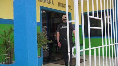 Vereadores de Rio Branco do Sul são alvos de operação do GAECO - Sete vereadores de Rio Branco do Sul, na região metropolitana de Curitiba, foram alvos hoje de uma operação do GAECO.
