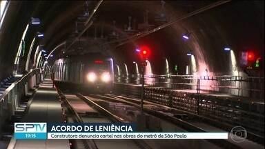 Construtora denuncia cartel nas obras do metrô de São Paulo - A construtora Camargo e Corrêa revelou ao Cade um esquema de cartel em obras do metrô no DF e em outros estados, incluindo São Paulo.