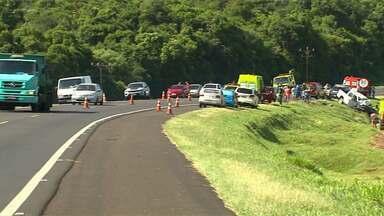 Estudantes da UNILA se mobilizam para ajudar vítimas de acidente em Céu Azul - Cinco pessoas morreram no acidente no sábado