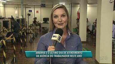 Agência do Trabalhador atende só até esta terça-feira (19) em Ponta Grossa - O atendimento só volta dia 6 de janeiro, após o recesso de final de ano que também atinge outros setores da Prefeitura.