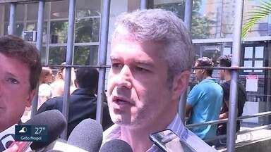 Acusado de matar fã de Ana Hickmann presta depoimento em Belo Horizonte - Gustavo Corrêa, empresário e cunhado da apresentadora, foi ouvido na Justiça. Duas testemunhas também compareceram à audiência instrução.