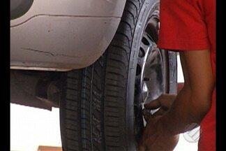 PRF alerta para perigo dos pneus frisados em estradas do Pará - Cuidados com o carro devem ser redobrados em época de fim de ano.