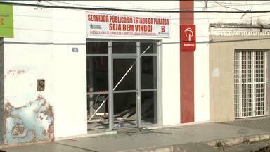 Bandidos atacam agência dos correios e banco privado da cidade de Aparecida - O caso foi durante a madrugada.