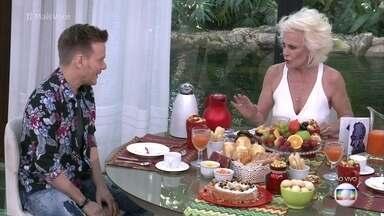 Ana Maria recebe Michel Teló - O cantor fala sobre a impotância de ter cuidado com a sua alimentação