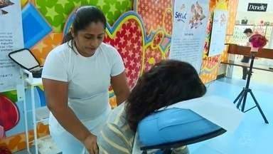 Em Macapá, feira divulga os cursos ofertados pelo Senac - As unidades de Macapá e Santana estão participando. Ao todo, a instituição oferta mais de 30 cursos, em 11 segmentos.