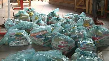 Começa nesta sexta a entrega das cestas de alimentos da campanha 'Natal sem Fome' - Ainda dá tempo de fazer as doações, a meta é que sejam arrecadadas 25 toneladas.