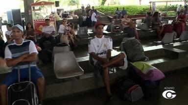 Número de passageiros aumenta nas rodoviárias de Maceió - Várias pessoas estão indo para outra cidade passar o Natal.