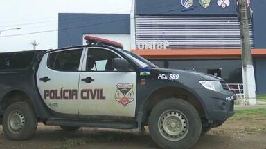 Polícia prende suspeito de matar empresário e roubar a caminhonete dele em Ariquemes - Franciele do Vale.