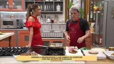 Marcos Alvim mostra rabanada diferente para o Natal - Chef dá receita para uma deliciosa Rabanada de Panetone