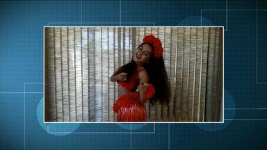 Jordana e Lorrany chamam o intervalo do Paraná TV - Participe também enviando um vídeo para o aplicativo Você na RPC.