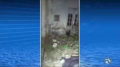 Corpo é encontrado dentro de baú em casa abandonada de Palmares - Vítima estava em estado de decomposição, conforme informou a Polícia Militar.