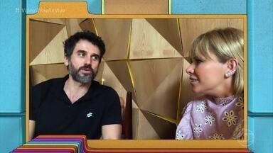 Eriberto Leão fala sobre filhos e revela lado mal-humorado - Ator abre o coração para Mônica Salgado