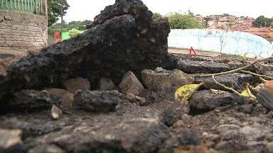 Secretaria de Obras vai usar micropavimentação para recuperar asfalto em Londrina - 60% do asfalto de Londrina precisa de recuperação.
