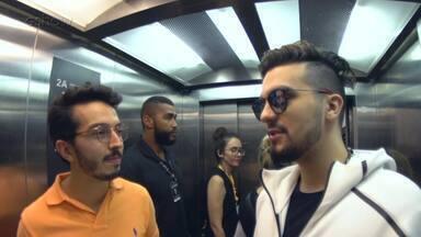 Confira a entrevista com Luan Santana - O cantor falou que não mudaria nada do que já aconteceu na sua vida