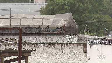 Termina rebelião na cadeia de Castro com 10 presos sendo transferidos para Ponta Grossa - Agente carcerário foi mantido refém por quase 20 horas.