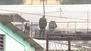 Após 20 horas, termina rebelião na cadeia de Castro - A confusão começou durante uma tentativa de fuga.