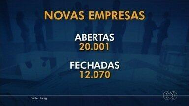 Goiás ganhou 20 mil novas empresas durante o ano de 2017 - Comércio viveu momento de recuperação neste ano.