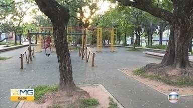 Fique alerta sobre os cuidados com crianças em parques, clubes e em praças - Só neste ano, em Belo Horizonte, foram cerca de 10 mil atendimentos de crianças no Hospital João XXIII por causa de quedas.