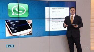 Tecnodicas: Gilberto Sudré dá dicas de Wi-Fi para viagem e mensagens de áudio no Whatsapp - Veja as orientações do consultor de tecnologia do Bom Dia ES.
